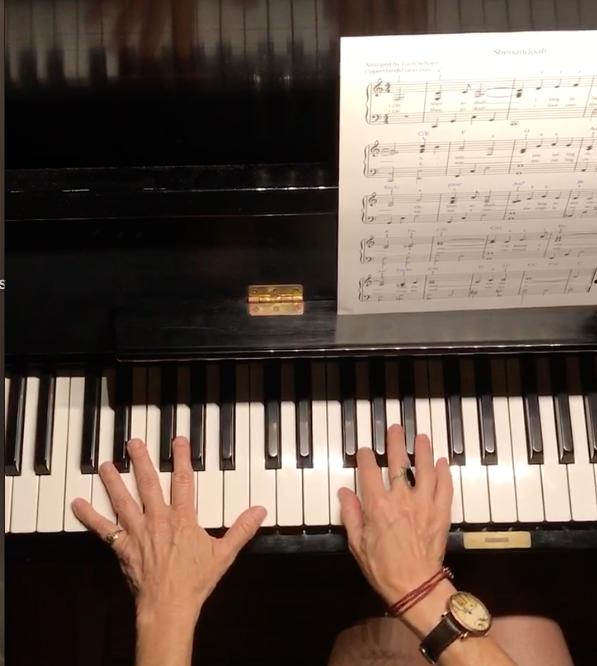 Piano Sheet Music For Shenandoah: August Free Sheet Music: Shenandoah